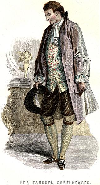 Marivaux Fausses Confidences Dorante théâtre XVIIIe siècle