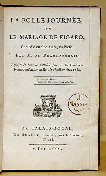 Beaumarchais Marivaux théâtre XVIIIe Figaro valets