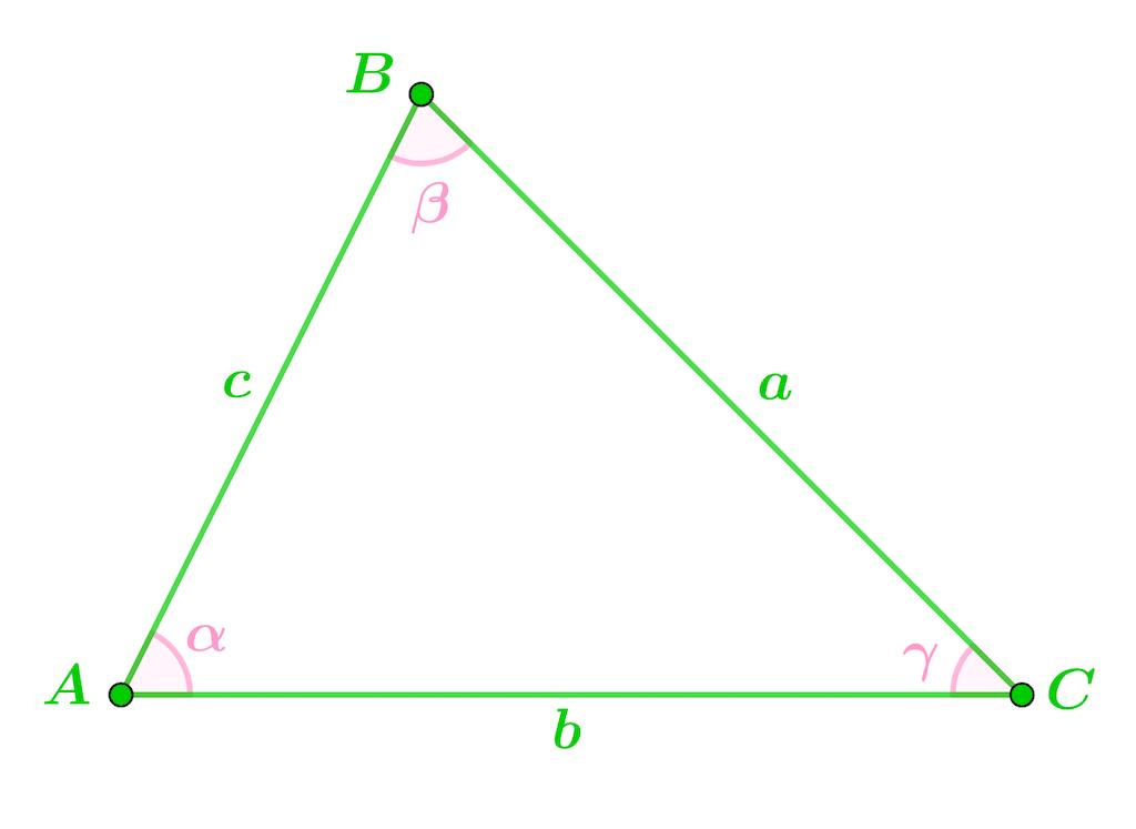 Mathématiques seconde géométrie plane théorème d'Al-Kashi loi des cosinus