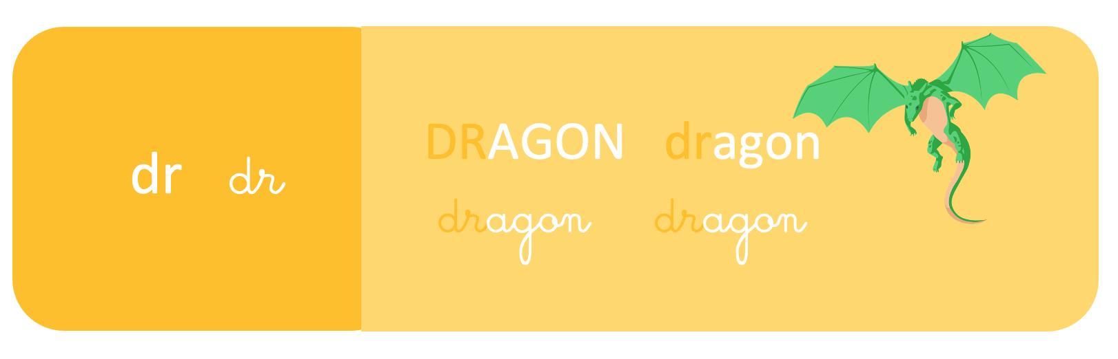 dr - dragon - schoolmouv - apprentissage de la lecture - CP
