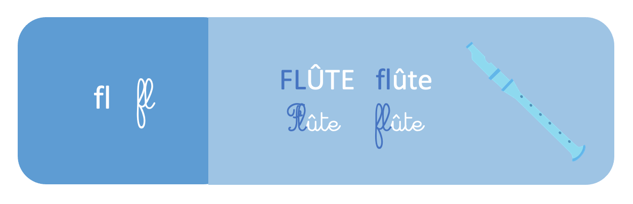 fl - flûte - apprentissage de la lecture - CP - SchoolMouv