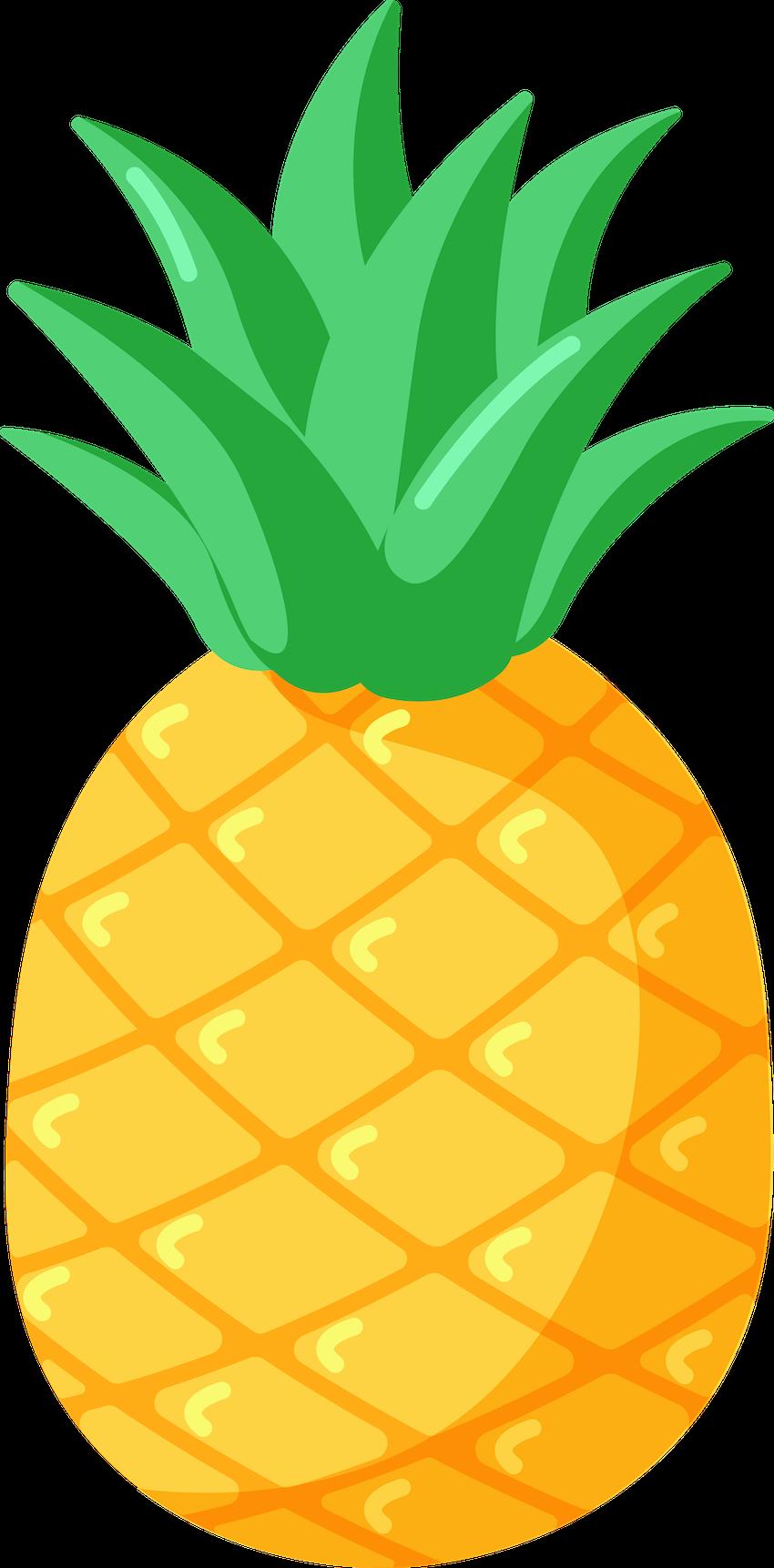 fruits pineapple anglais