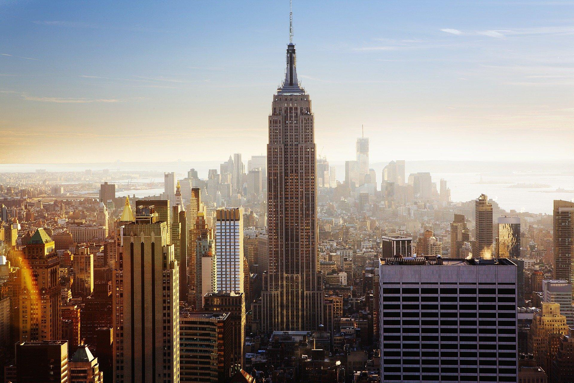 Empire State Building anglais New York