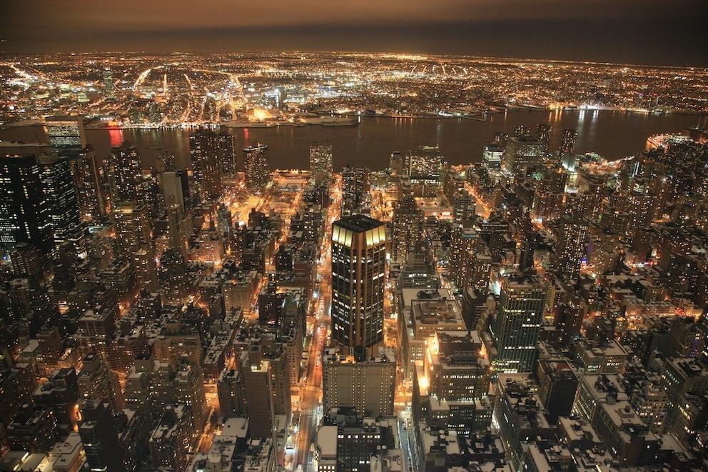 city anglais New York