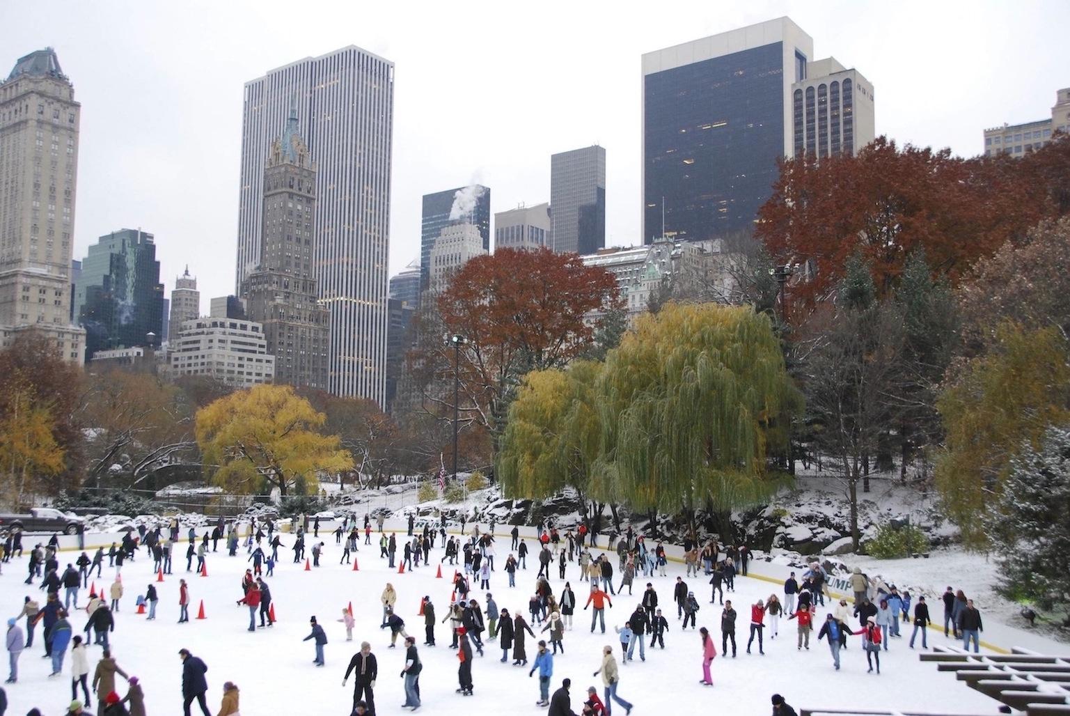 Central Park patinoire