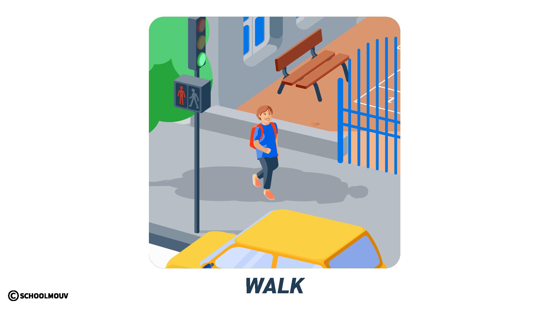 marcher anglais walk