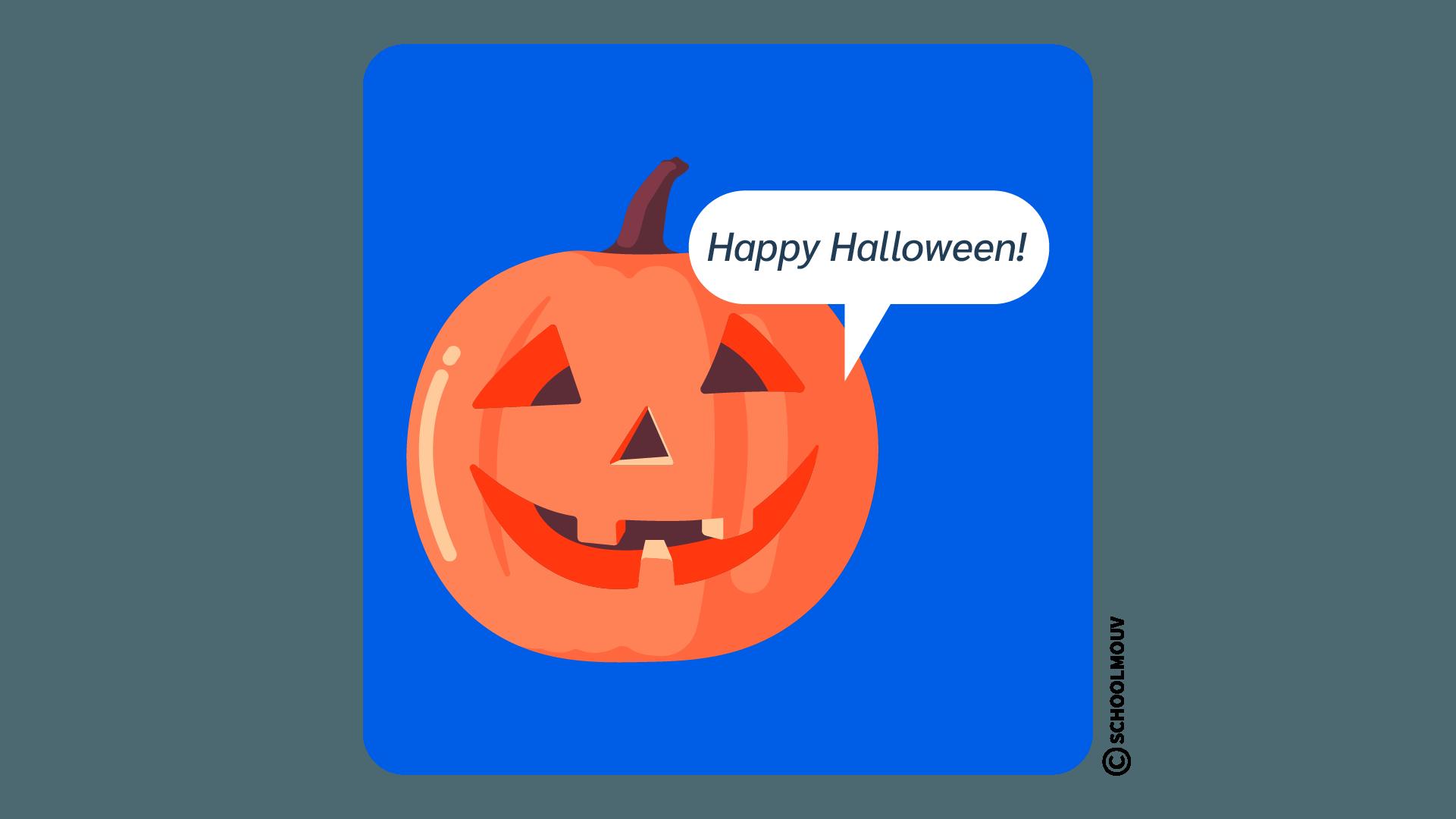 Halloween anglais
