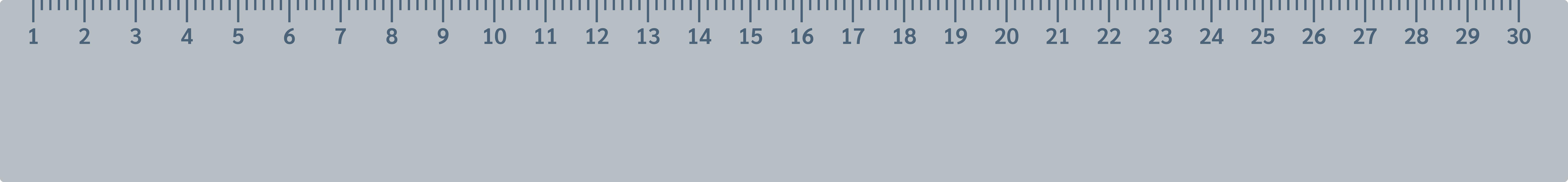 longueurs règle graduée décimètre