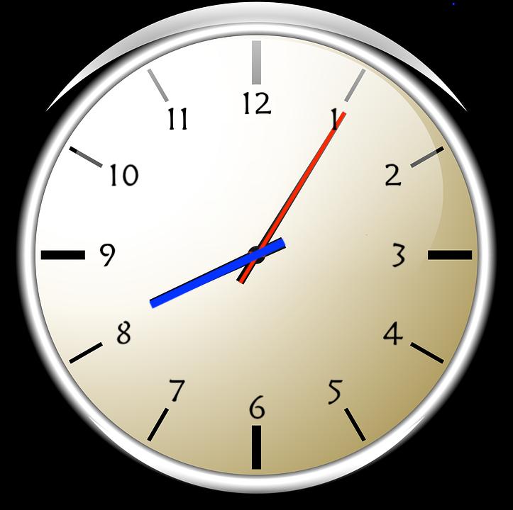 Horloge - Aiguilles - Minutes - Heures - SchoolMouv - Mathématiques - CE1
