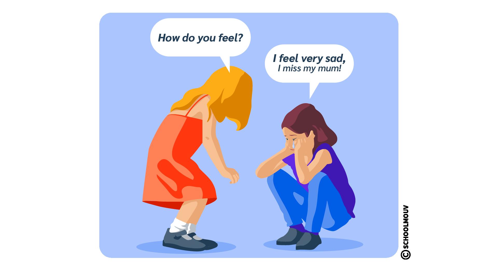 how do you feel émotion sentiment humeur anglais
