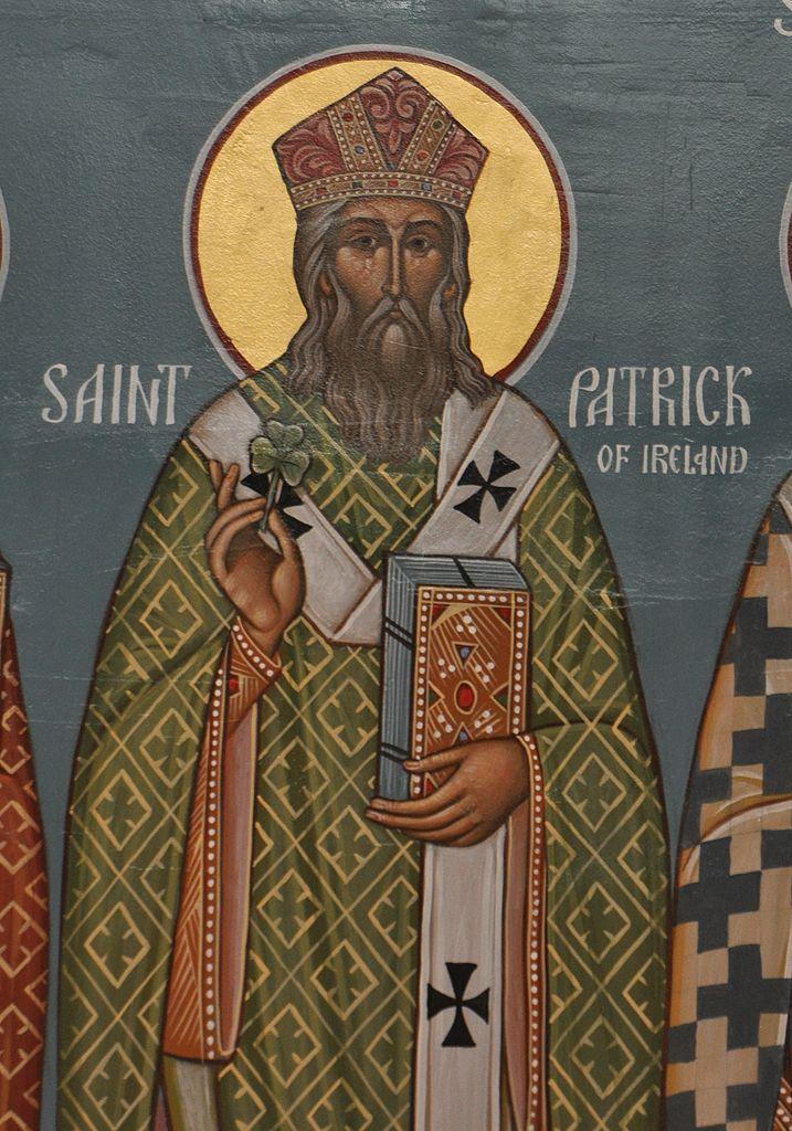 Saint Patrick trèfle Irlande