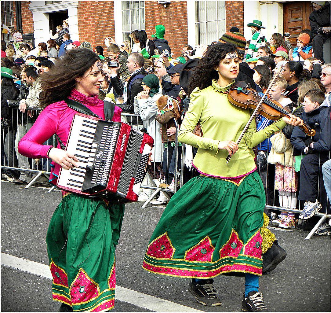 Saint Patrick fête Dublin