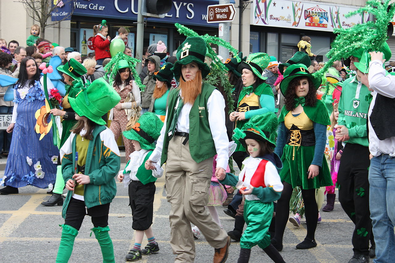 Saint Patrick fête Irlande