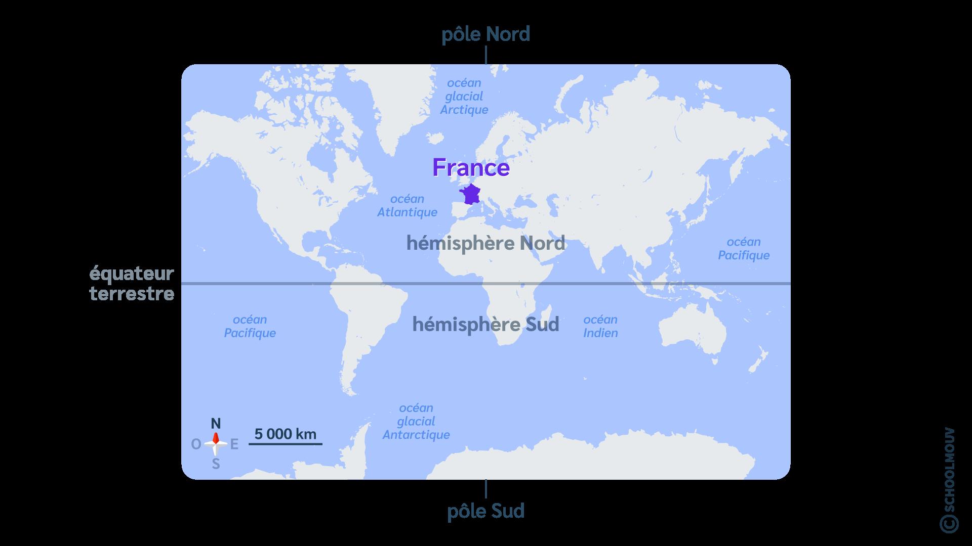 primaire questionner le monde géographie ce2 décrire un pays et ses régions
