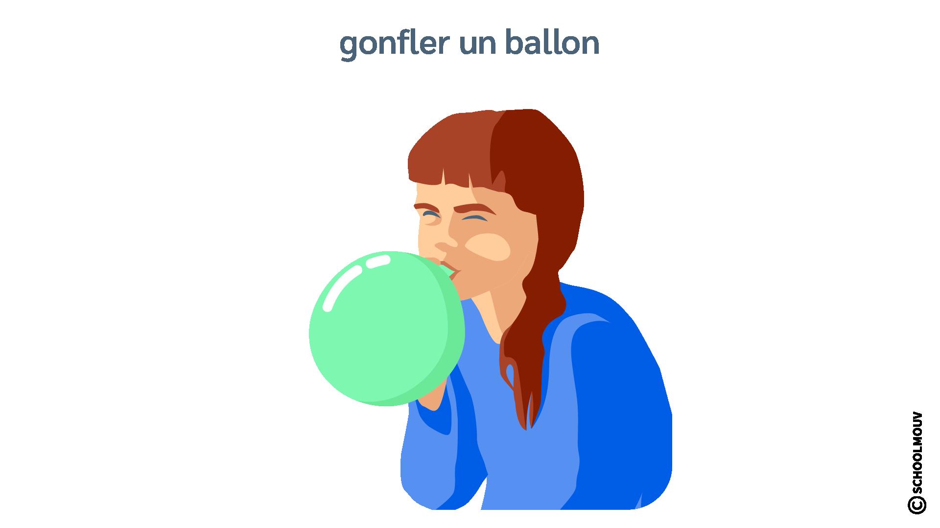 Gonfler - Ballon - Caoutchouc - Souffler - Air - SchoolMouv - Sciences - CE2