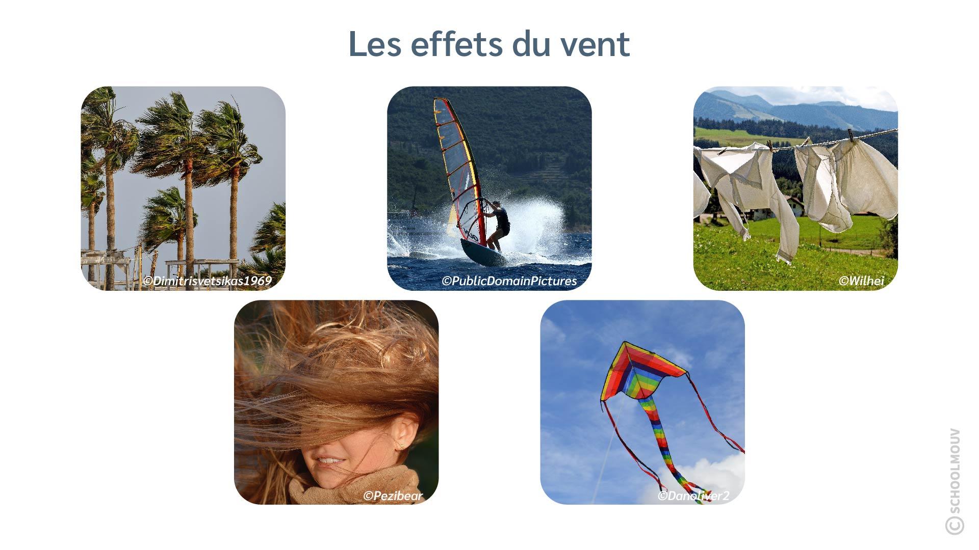 Vent - Souffler - Voile - Cerf-volant - Cheveux - SchoolMouv - Sciences - CE2