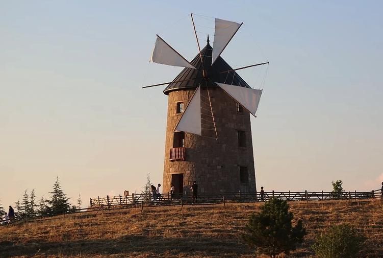 Moulin - Vent - Pâles - Tourner - Campagne - Rural - SchoolMouv - Sciences - CE2