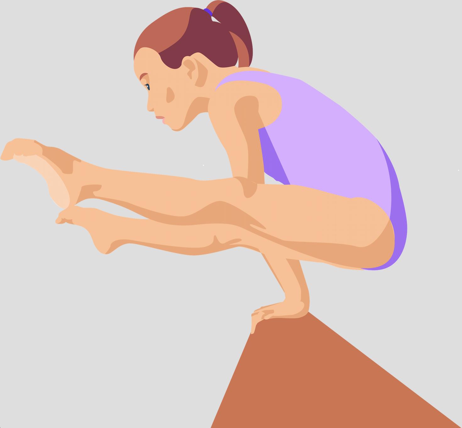 Fille - Gymnastique - Sport - Activité physique - Souplesse - SchoolMouv - Sciences - CE2