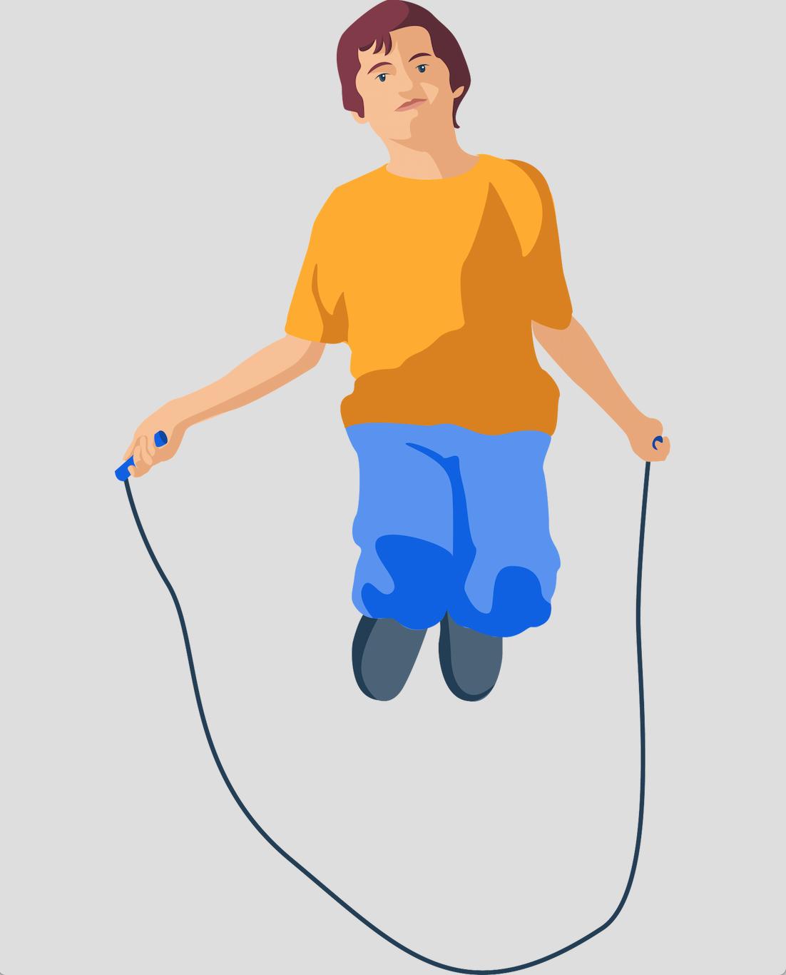 Garçon - Corde à sauter - Sport - Activité physique - Endurance - SchoolMouv - Sciences - CE2