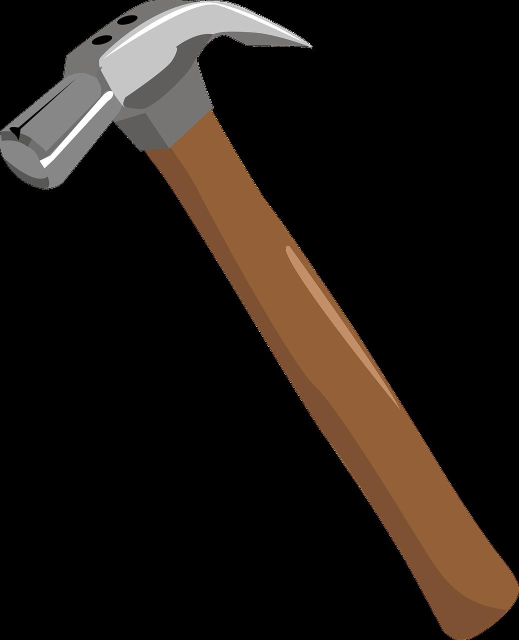 Marteau - Bricolage - Construction - Clous - Construction - Bâtiment - Maçon - SchoolMouv - Sciences - CE2
