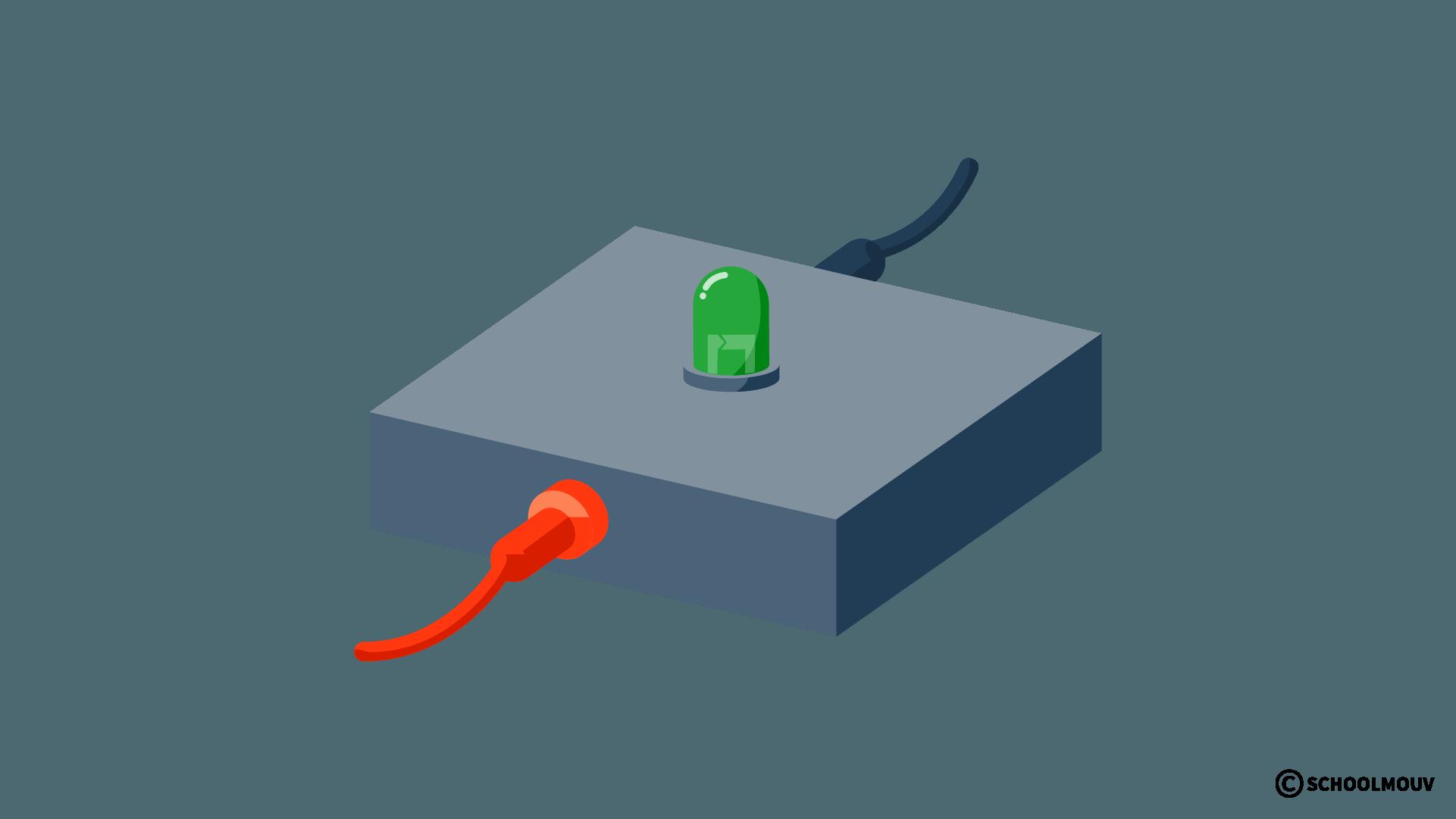 Diode électroluminescente - Électricité - Circuit électrique - SchoolMouv - Sciences - CE2