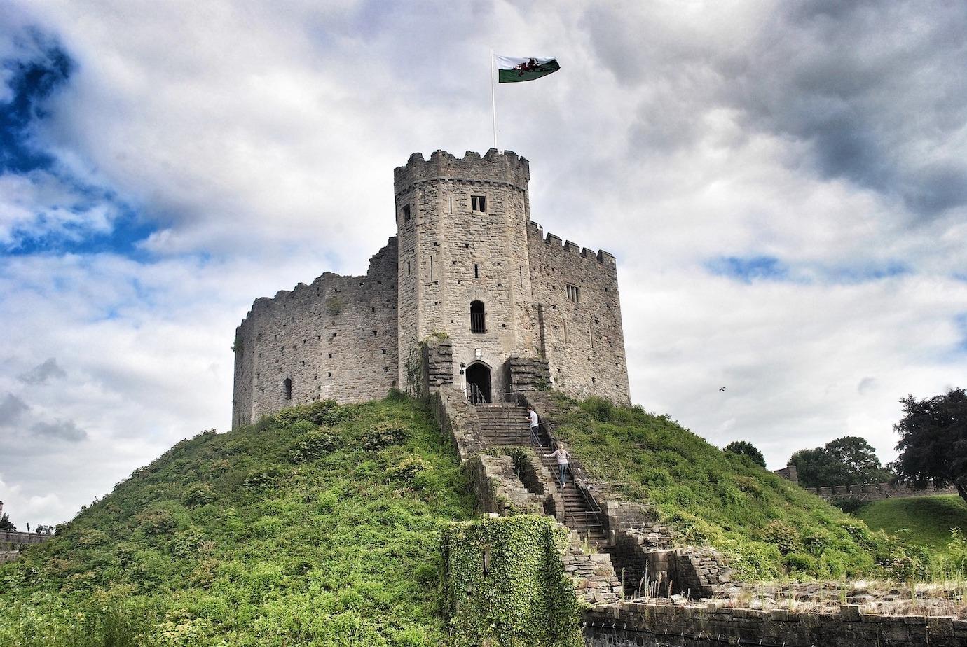 château Pays de Galles Anglais Cardiff