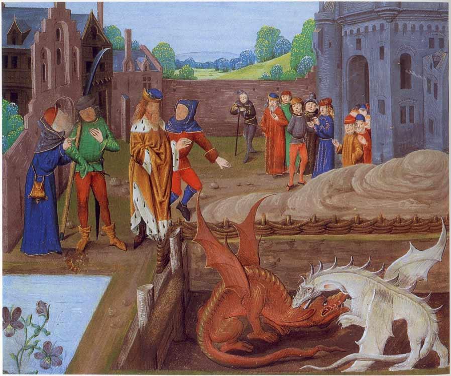 dragon rouge Pays de Galles
