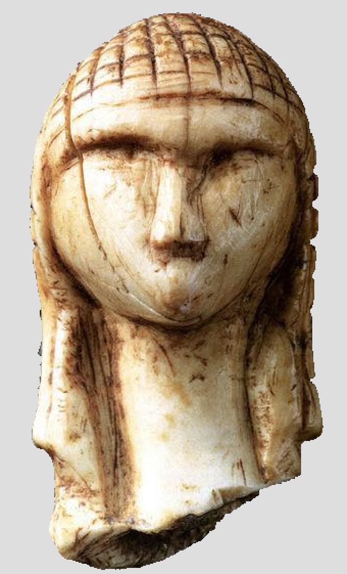 Préhistoire - Sculpture - Dame de Brassempouy - SchoolMouv - Histoire - CM1