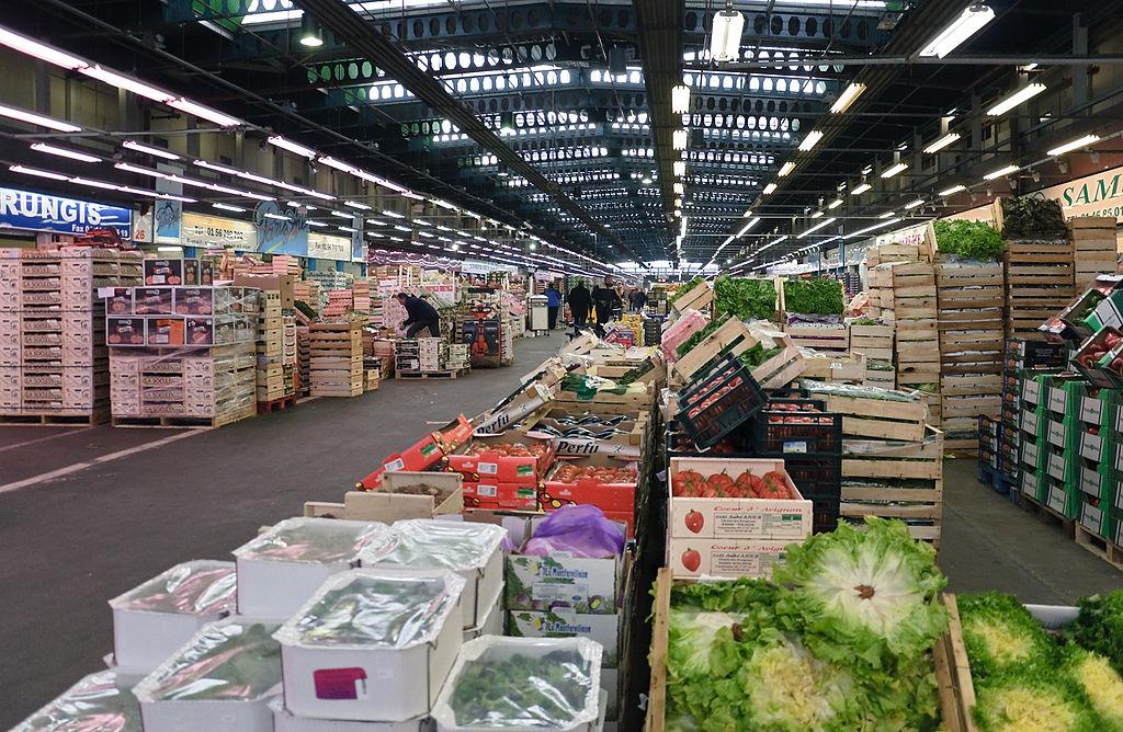 Marché - Légumes - Fruits - Vente - Rungis - SchoolMouv - Géographie - CM1