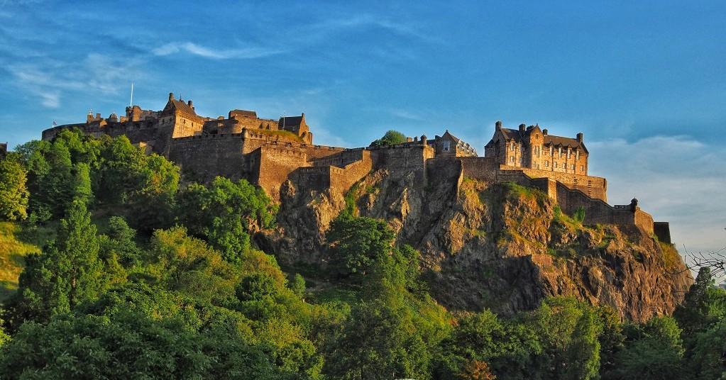 château d'Édimbourg Écosse