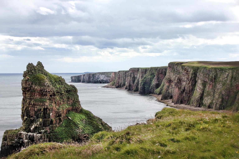 falaises Duncansby Écosse