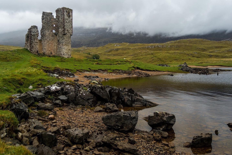 Château d'Ardvreck Highlands Écosse