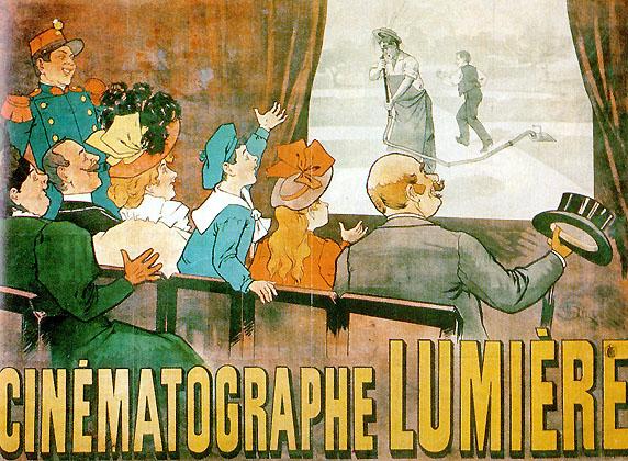 Affiche - Cinéma - Frères Lumière - Ancien - SchoolMouv - Histoire - CM2