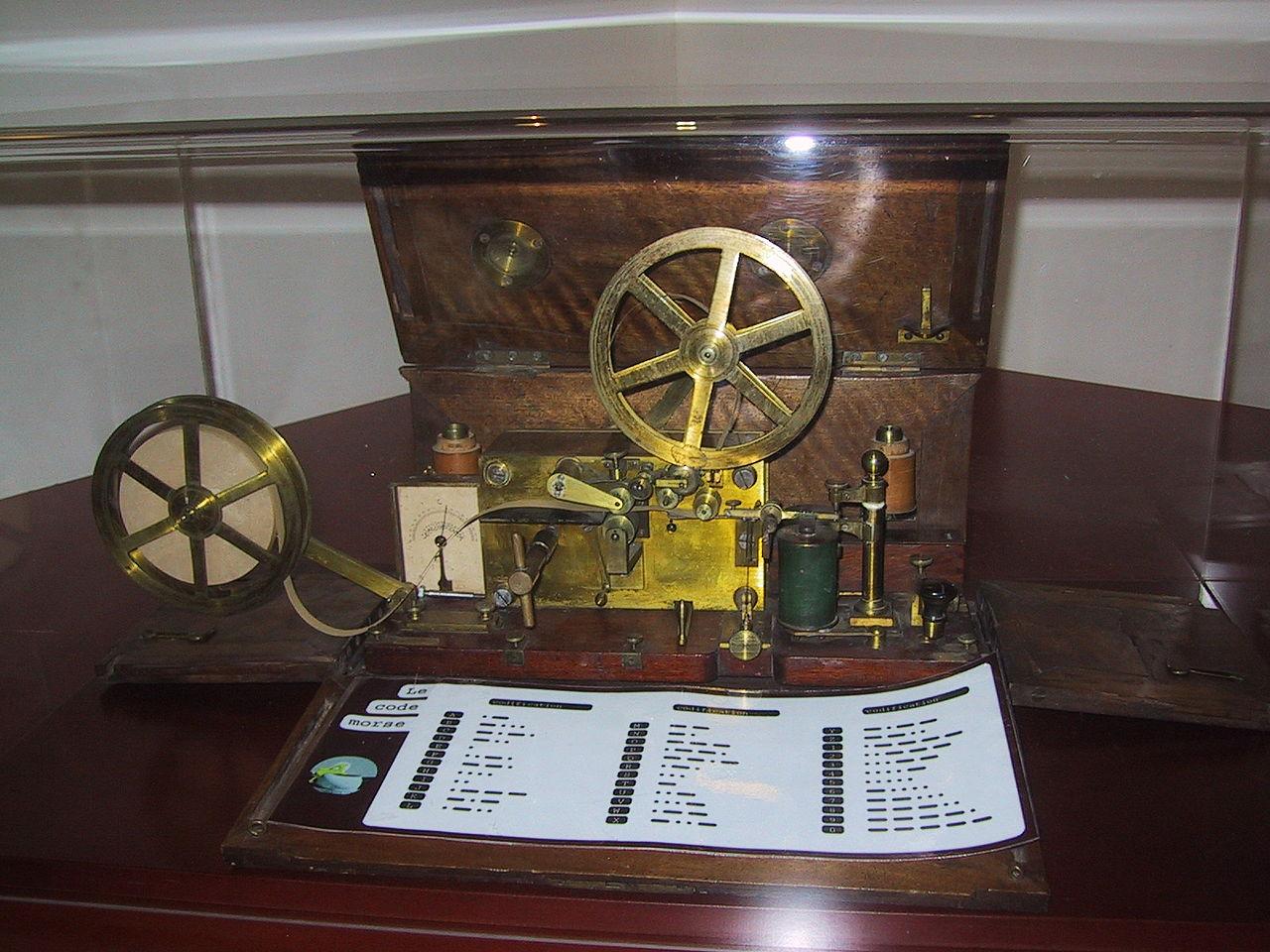Télégraphe - Morse - Technologie - Ancien - Communication - SchoolMouv - Histoire - CM2
