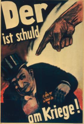Propagande - Antisémite - Affiche - Juif - Nazi - Discrimination - Caricature - SchoolMouv - Histoire - CM2