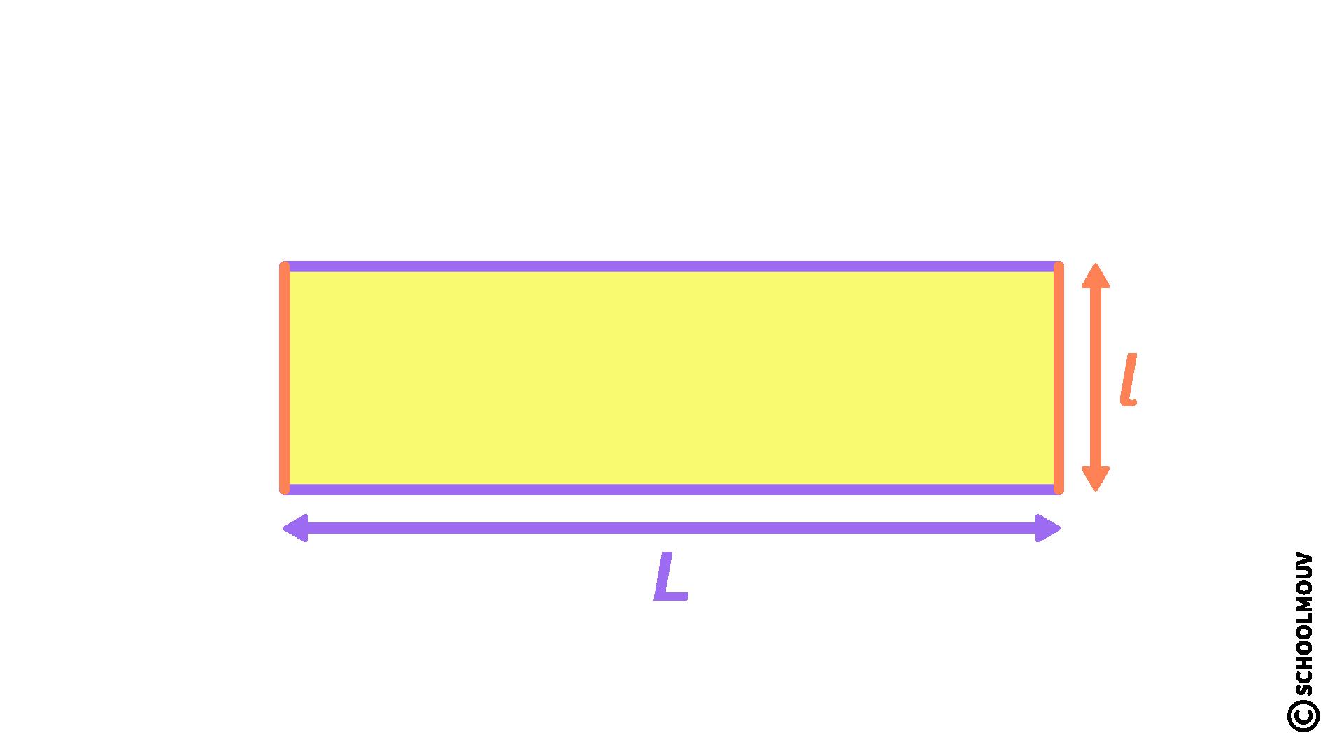 mathématiques CM2 longueur périmètre rectangle