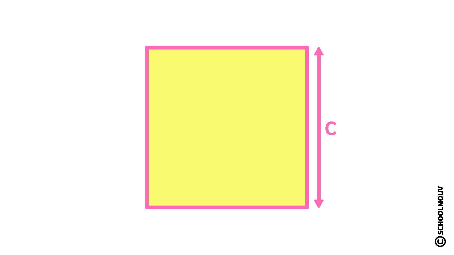 mathématiques CM2 longueur périmètre carré