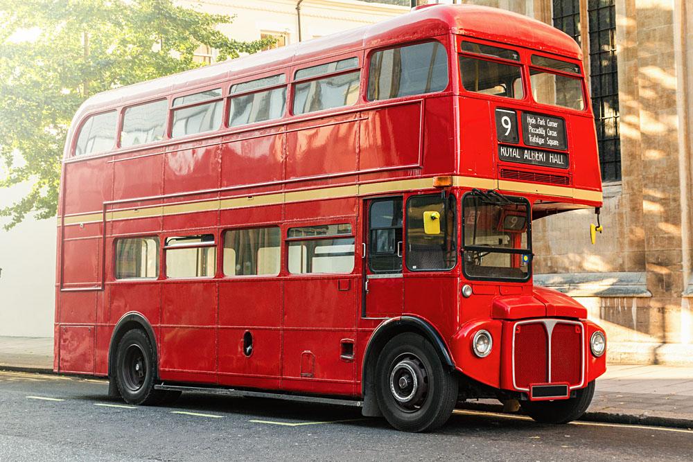 bus Londres rouge