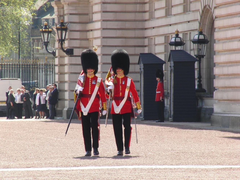 Gardes Buckingham Londres