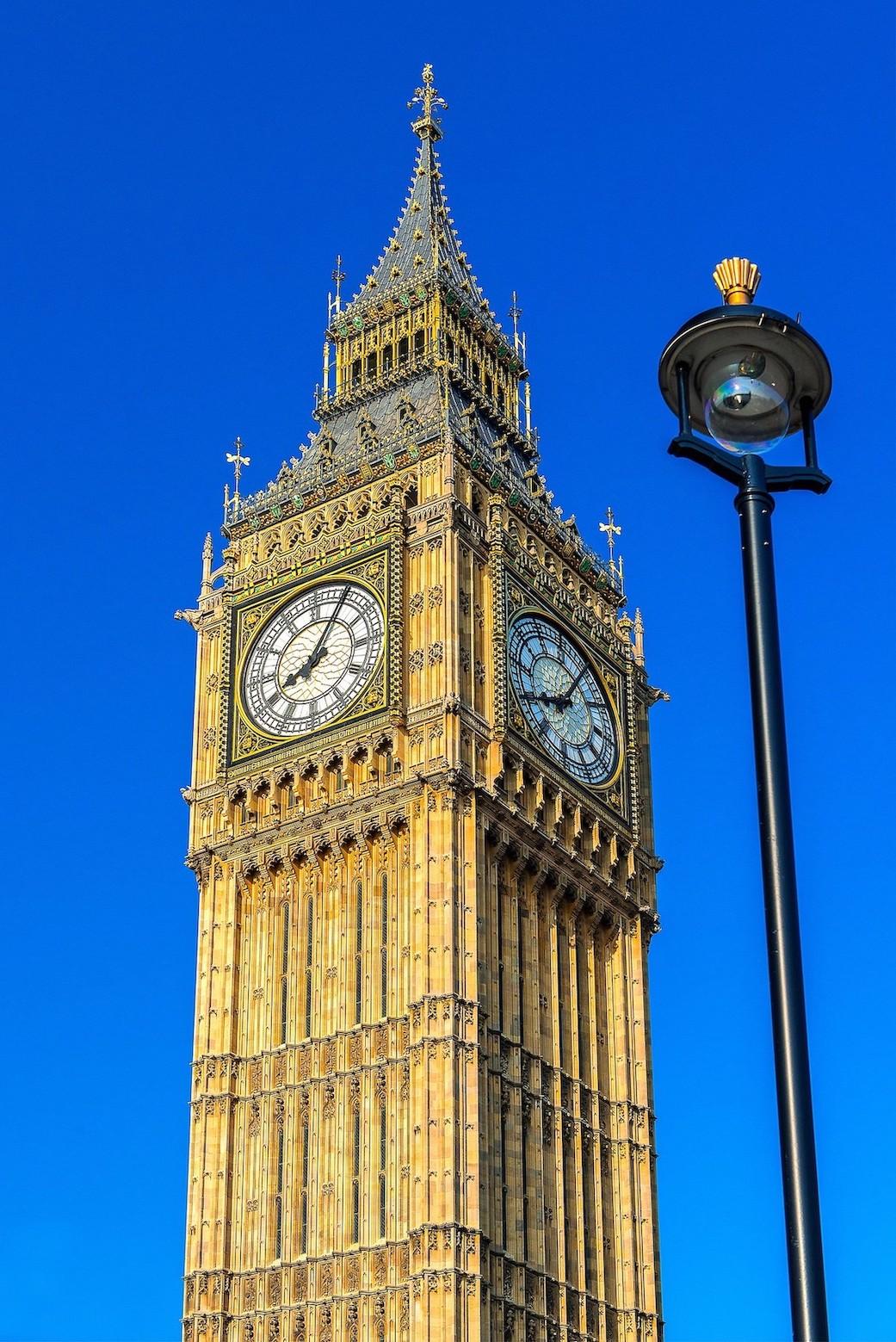 Big Ben tour Londres horloges
