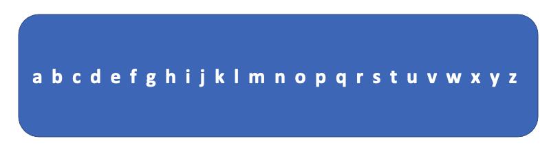 l'alphabet - apprentissage de la lecture - CP