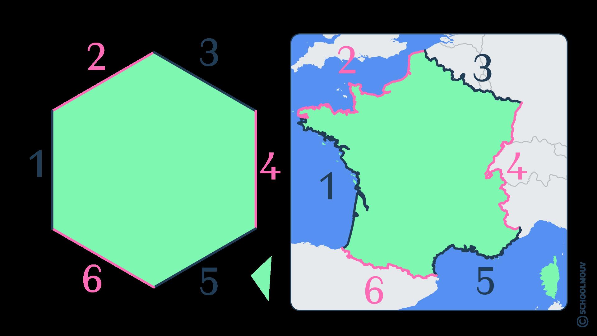 questionner le monde géographie CP se repérer sur Terre globe terrestre planisphère France hexagone