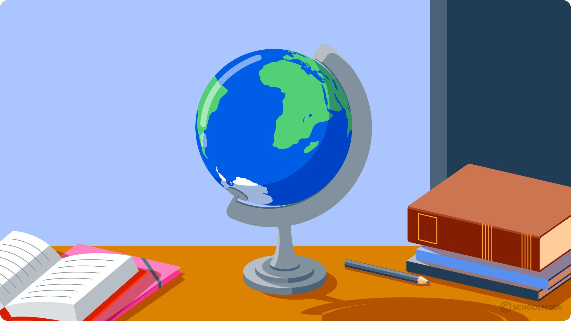 primaire questionner le monde cp les représentation de la Terre globe terrestre