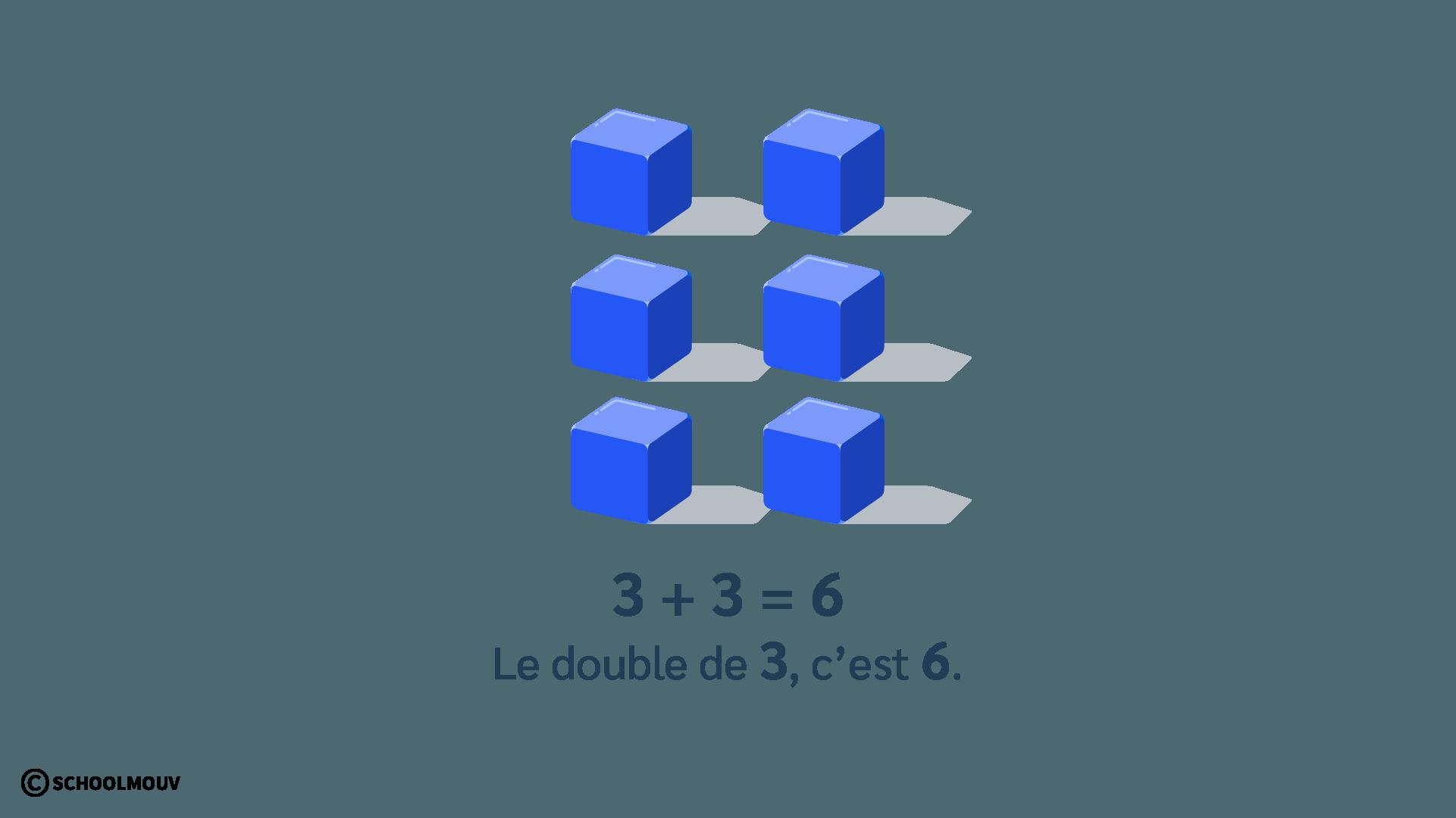 double de 3