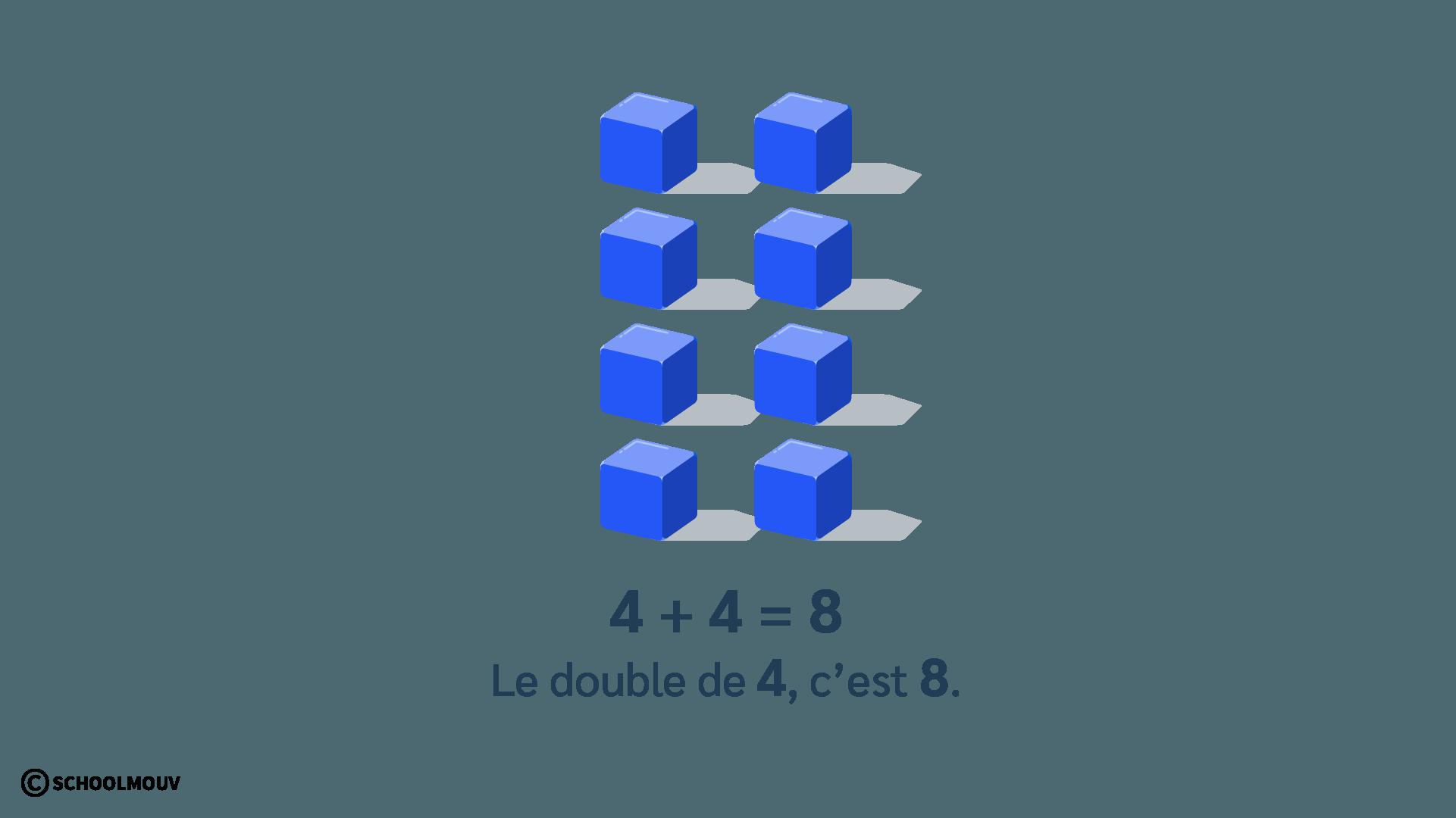 double de 4