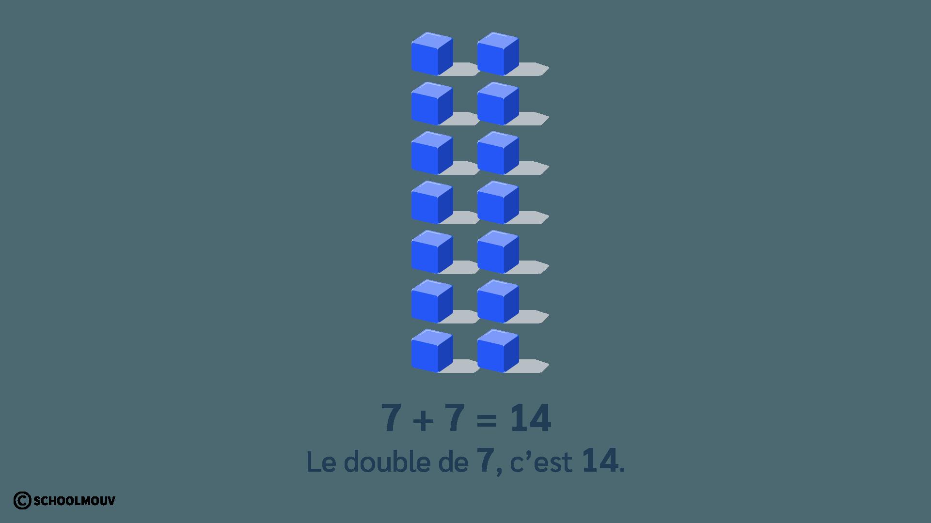 double de 7