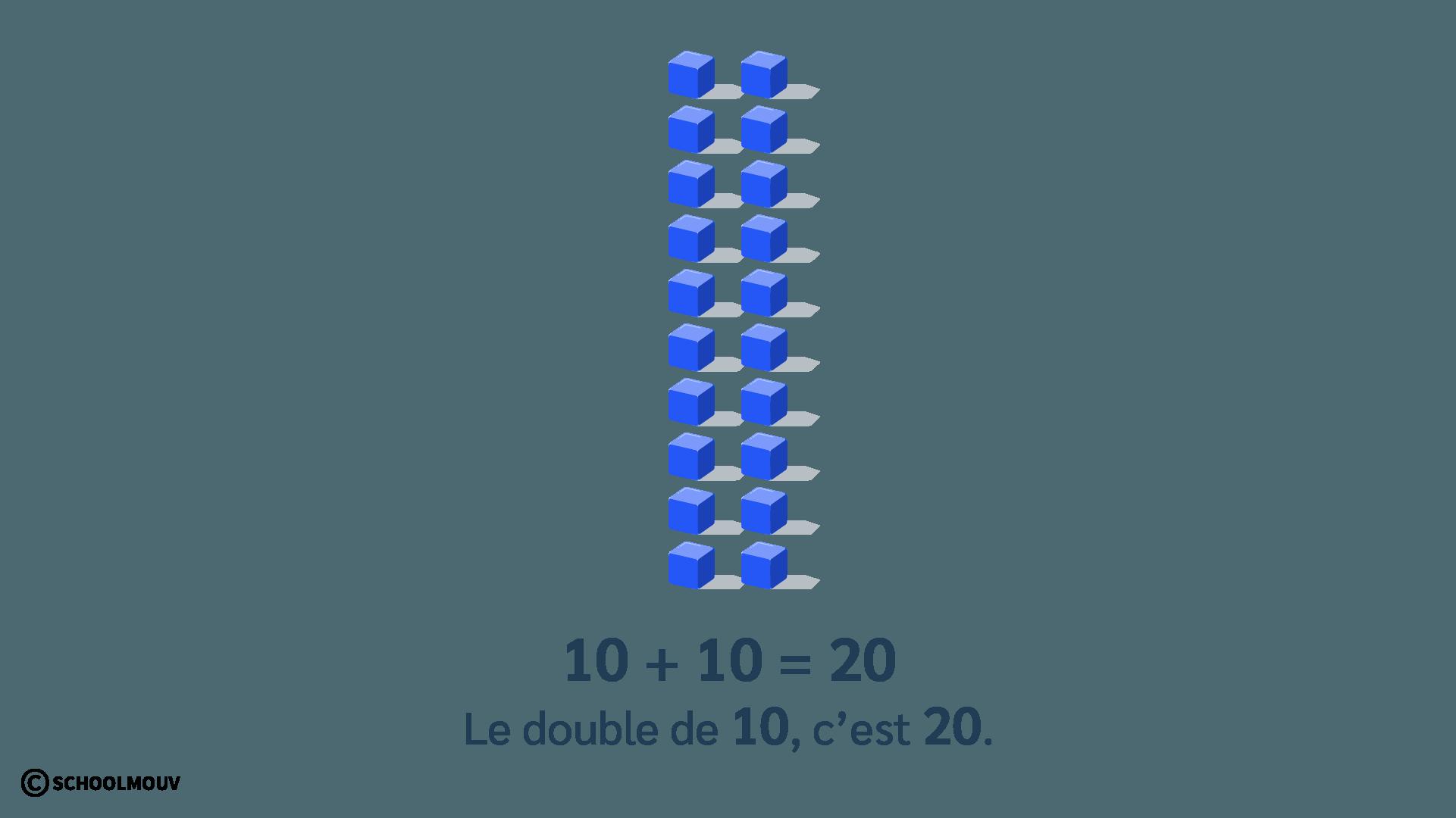 double de 10