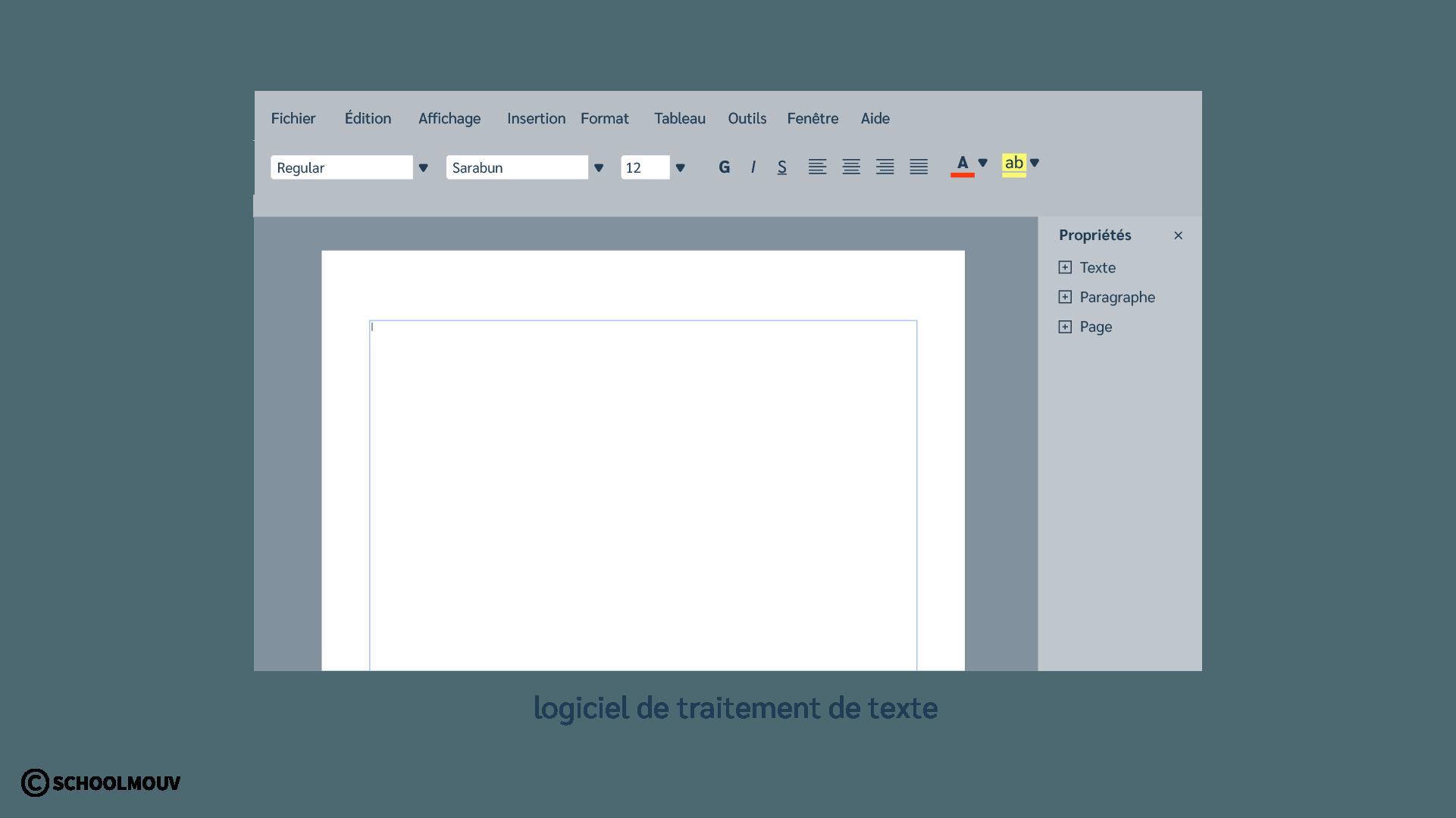 Logiciel de traitement de texte - Ordinateur - Écrire - Numérique - SchoolMouv - Sciences - CP