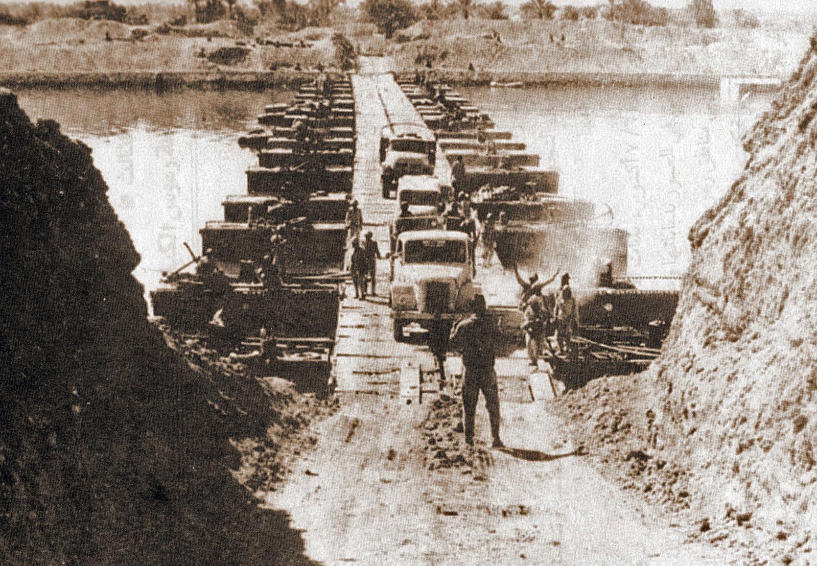 Armée égyptienne - canal de Suez - 7 octobre 1973 - Histoire - Terminale - SchoolMouv