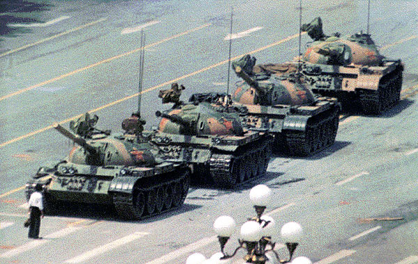 Tankman - place Tian'anmen - 1989 - SchoolMouv - Histoire - Terminale